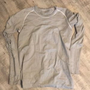 Striped LuluLemon Shirt